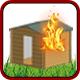Brandeinsatz > Gartenhütte- / Schuppenbrand